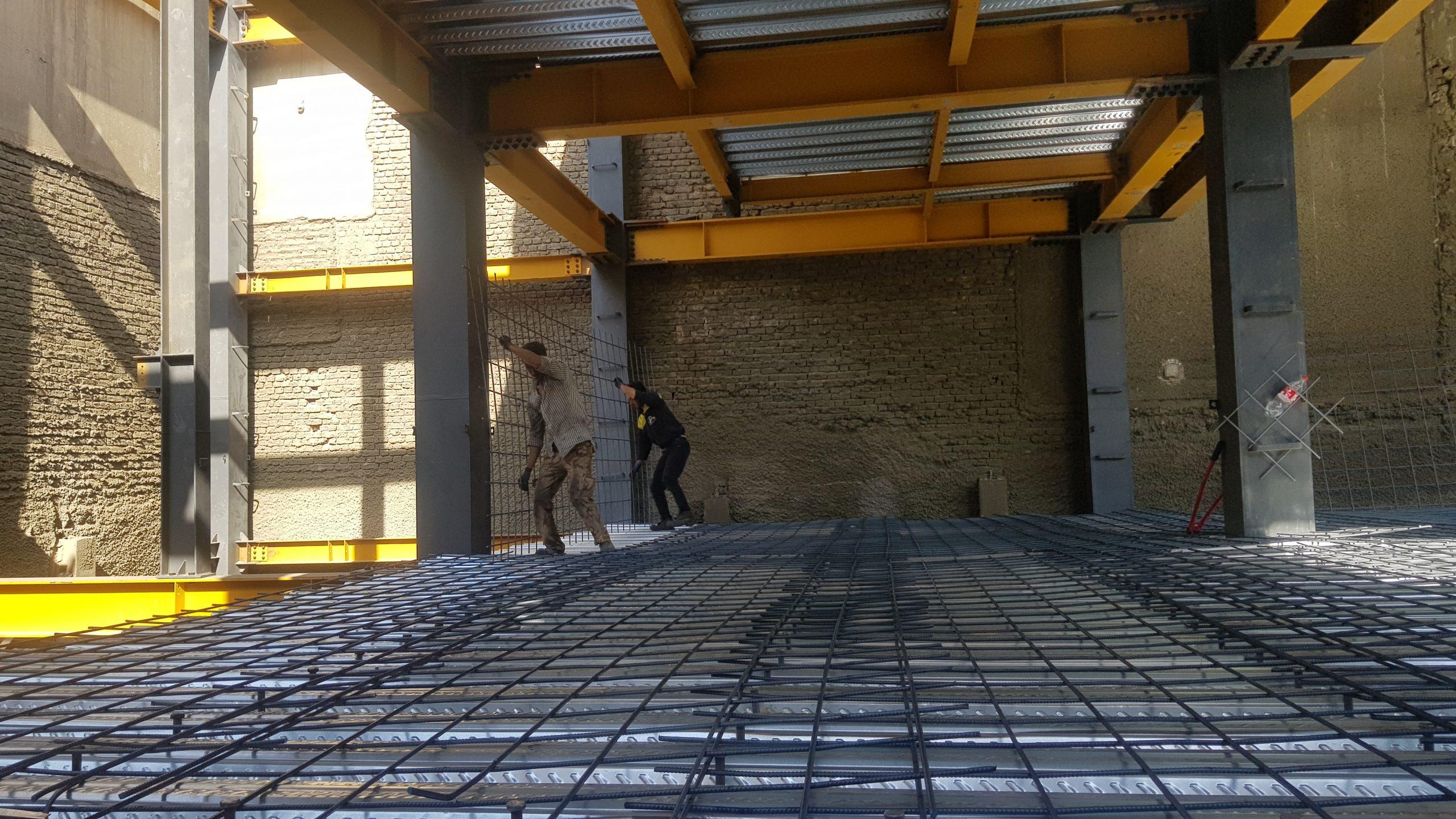 مزیت های سقف عرشه فولادی